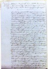 Ordine del giorno di Agostino Bertani