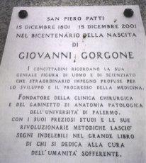 Lapide del Dott. Gorgone