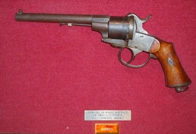 Giuseppe Basile: pistola donata al dott. Basile dal Generale Garibaldi in memoria del fatto storico d'Aspromonte