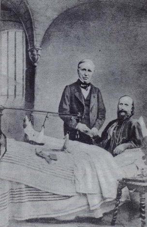 Nelaton e Garibaldi