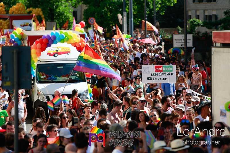 Il Pride torna a Padova il 1 giugno
