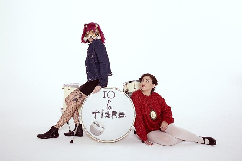Io e la Tigre _Foto di Andrea Domeniconi - Deposito Zero Studios Forlì
