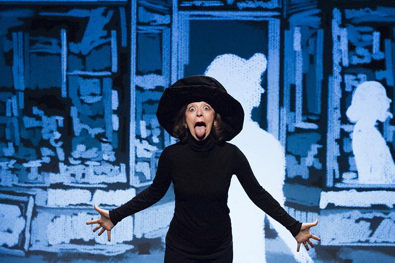Il Teatro de LiNUTILE inaugura la Stagione all'insegna di Peggy Guggenheim