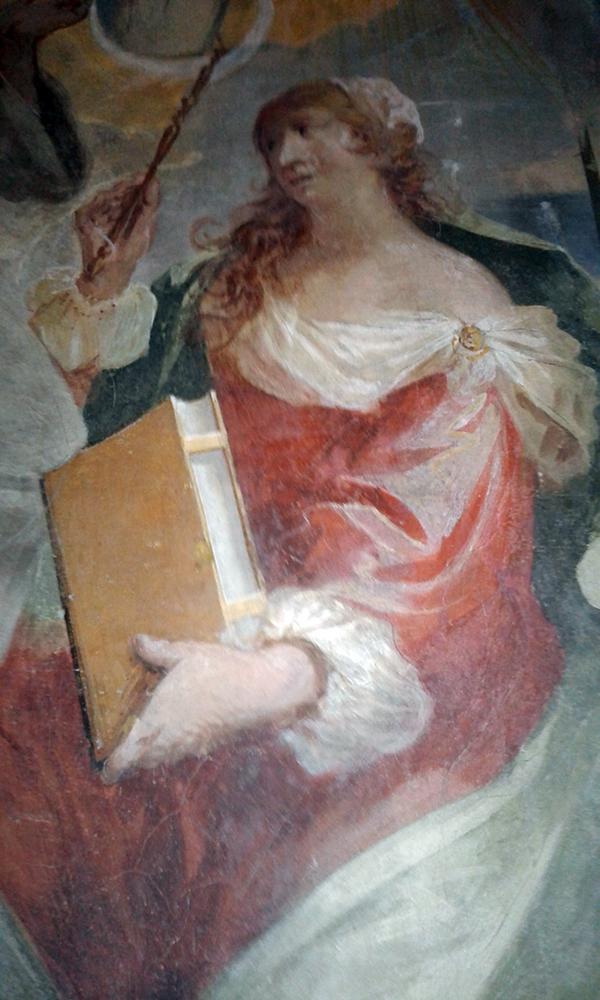 Monumento Matteo Ferchio (1671) Autore del XVII secolo Allegoria Femminile