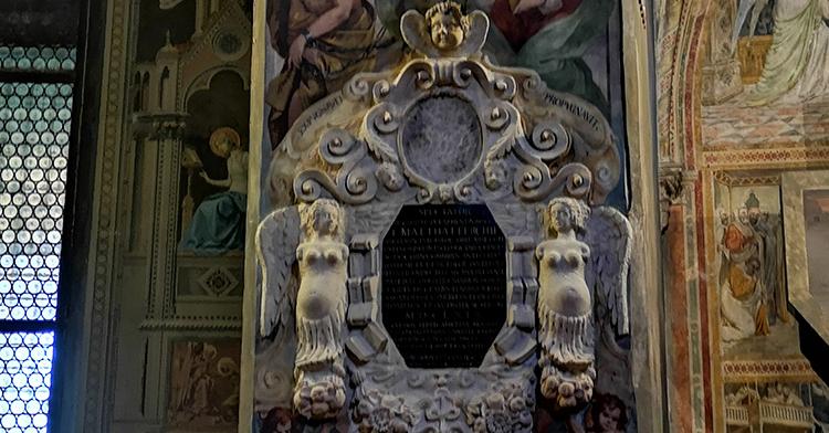 Restaurato al Santo il monumento a Matteo Ferchio (1583-1669)
