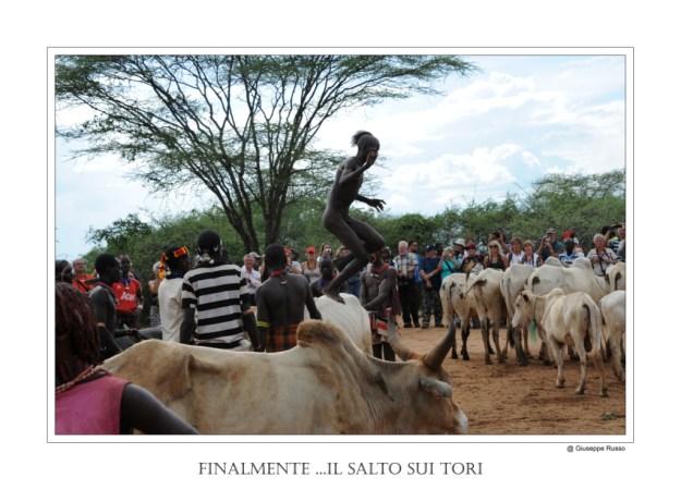ETIOPIA : IL SALTO DEL TORO (etnia HAMER)