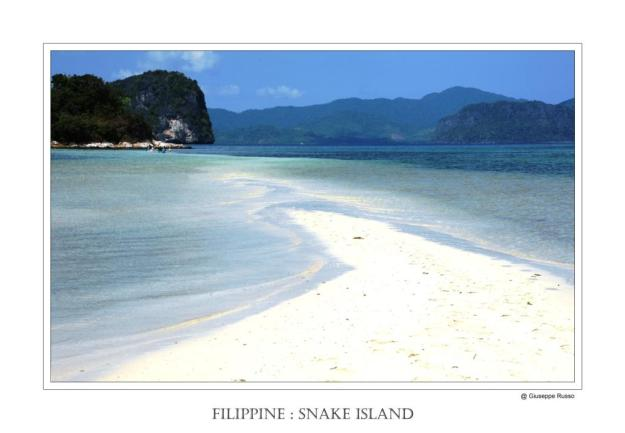 FILIPPINE : SNAKE ISLAND