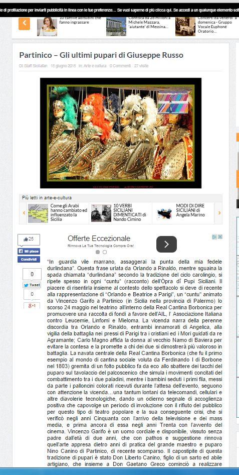 articolo pubblicato su Sicilia Fan parte 1