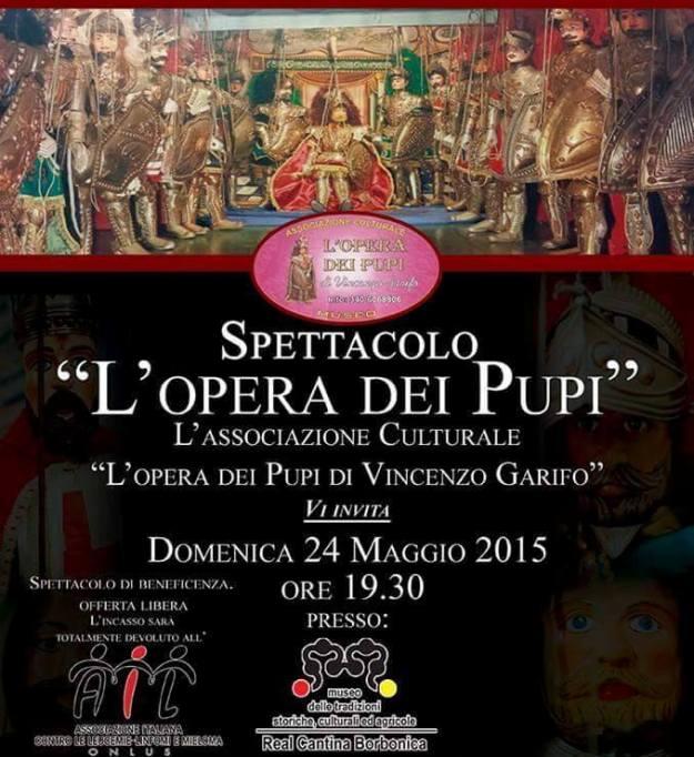 Spettacolo l'Opera dei Pupi (locandina) dal web