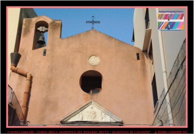"""Chiesa della Madonna del Rosario, detta """" Maronna di l'Agnuni"""""""