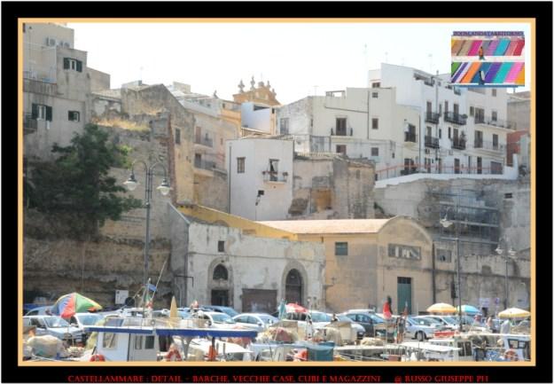 Il borgo visto dalla Cala Marina