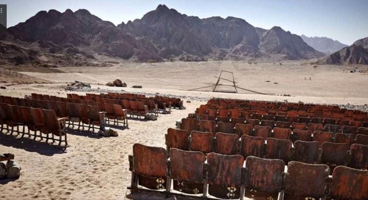 Cinema nel deserto, Egitto