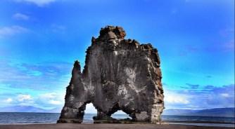 Hvitserkur e la baia di Huna, Islanda