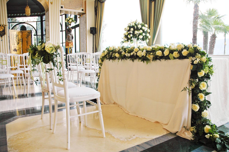 Decorazioni floreali per matrimonio civile  Giuseppina Comoli floral designer