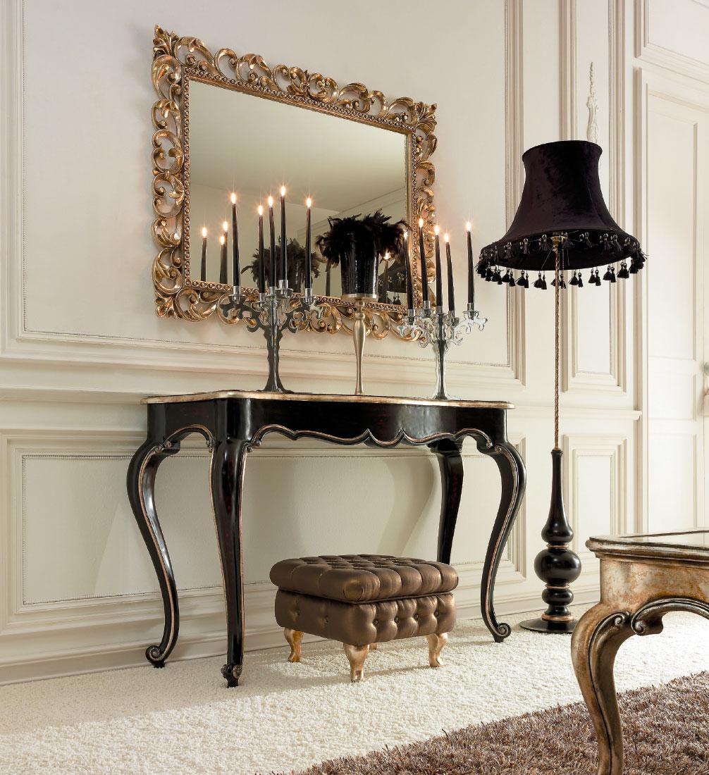 Consolle classiche per larredamento della camera classica