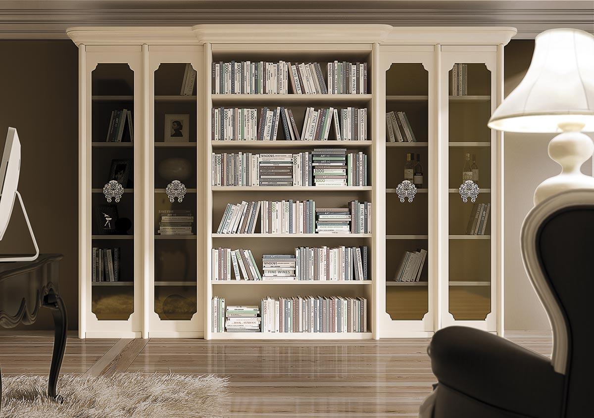 Librerie classiche per larredamento classico del