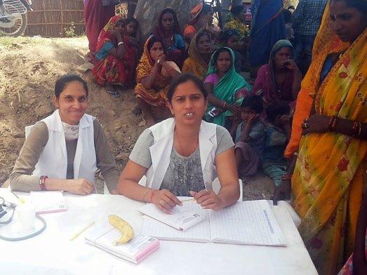 Free Medical Camp im Dorf Kanaun 2015