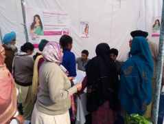 Gynecological consultation was also offered