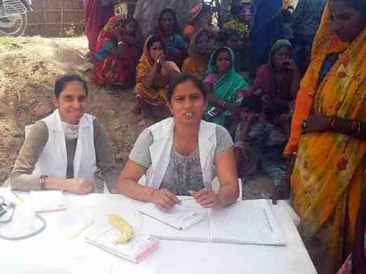 Free medical camp in Kanaun 2015