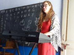 Inga am Keyboard