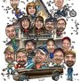 Gifts For Bosses Day Custom Boss Gift Caricatures From A