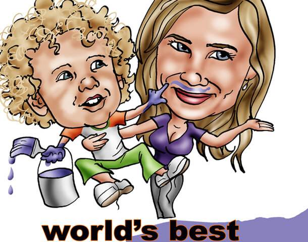 1 Custom Caricature From Photos Website Personalized