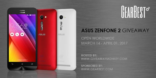 Asus ZenFone 2 International Giveaway
