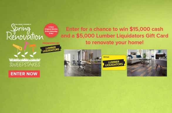 Spring Renovation Sweepstakes