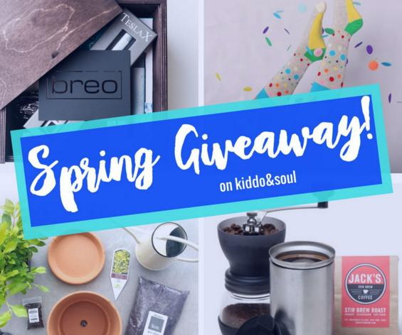 kiddo & soul Spring Giveaway - Chance to Win One of 9 Subscription Boxes Prize