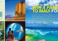 Trip to Maui Sweepstakes