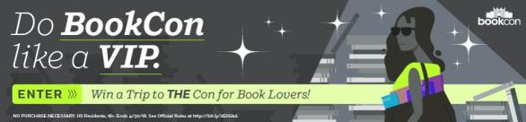 BookCon VIP Sweepstakes