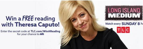 Theresa Caputo Reading Giveaway