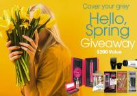 Cover Your Gray Hello Spring Giveaway – Chance to Win Exciting Prizes
