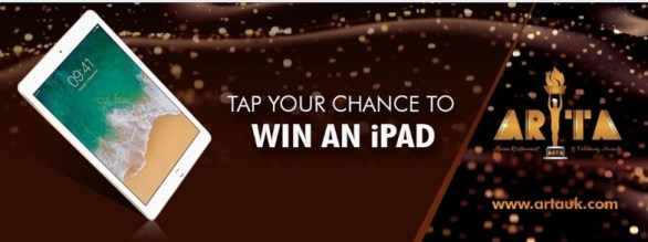 ARTA Awards Ltd iPad Giveaway - Win A Brand New Apple iPad