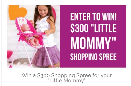Adora Play Little Mommy Shopping Spree Sweepstakes - Win Shopping Spree