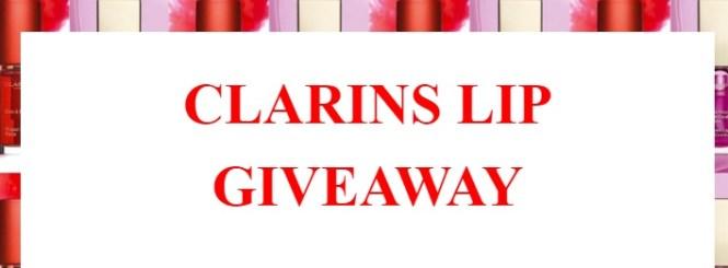 Clarins 2018 Lip Social Giveaway - Win Clarins Mini Instant Light Lip Comfort Oil