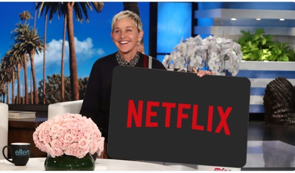 Ellentube Giveaway - Win A 5 Year Netflix Membership