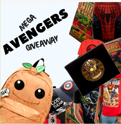Parallel Star Mega Avengers Giveaway - Win A Marvel Collection