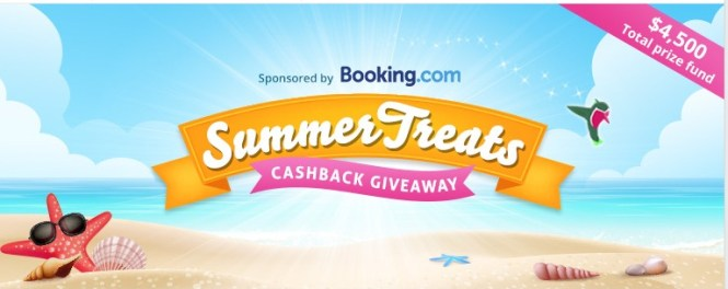 Summer Treats Cash Back Giveaway - Win $500