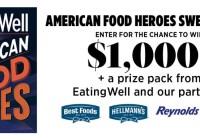 American Food Heroes Sweepstakes