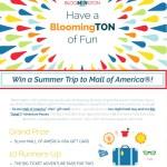 BloomingTON Of Fun Sweepstakes - Win America Visa Gift Card
