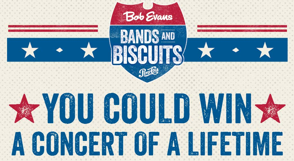 Bob Evans Pepsi Summer Sweepstakes - Win Live Nation Concert Tickets