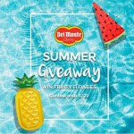 Fruity Floaties Giveaway - Win An Inflatable Fruit Themed Float