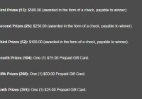 Newport Payday Everyday Pick 3 Instant Win Game - Win $500 Check
