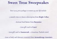 Sweet Treat Sweepstakes