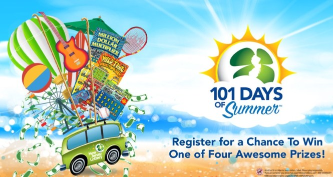 101 Days Of Summer Sweepstakes - Win Lottery Prize Package