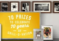 Char Broil 70th Anniversary Sweepstakes - Win $500 Visa Gift Card