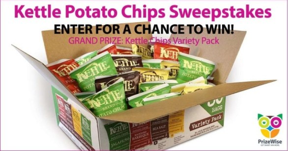 Kettle Chips Sweepstakes