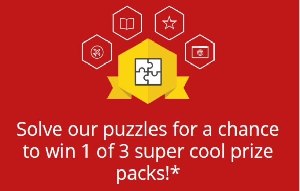 McAffee Kidsperts Pictogram Puzzle Sweepstakes