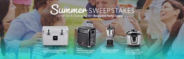 Monoprice Summer Sweepstakes